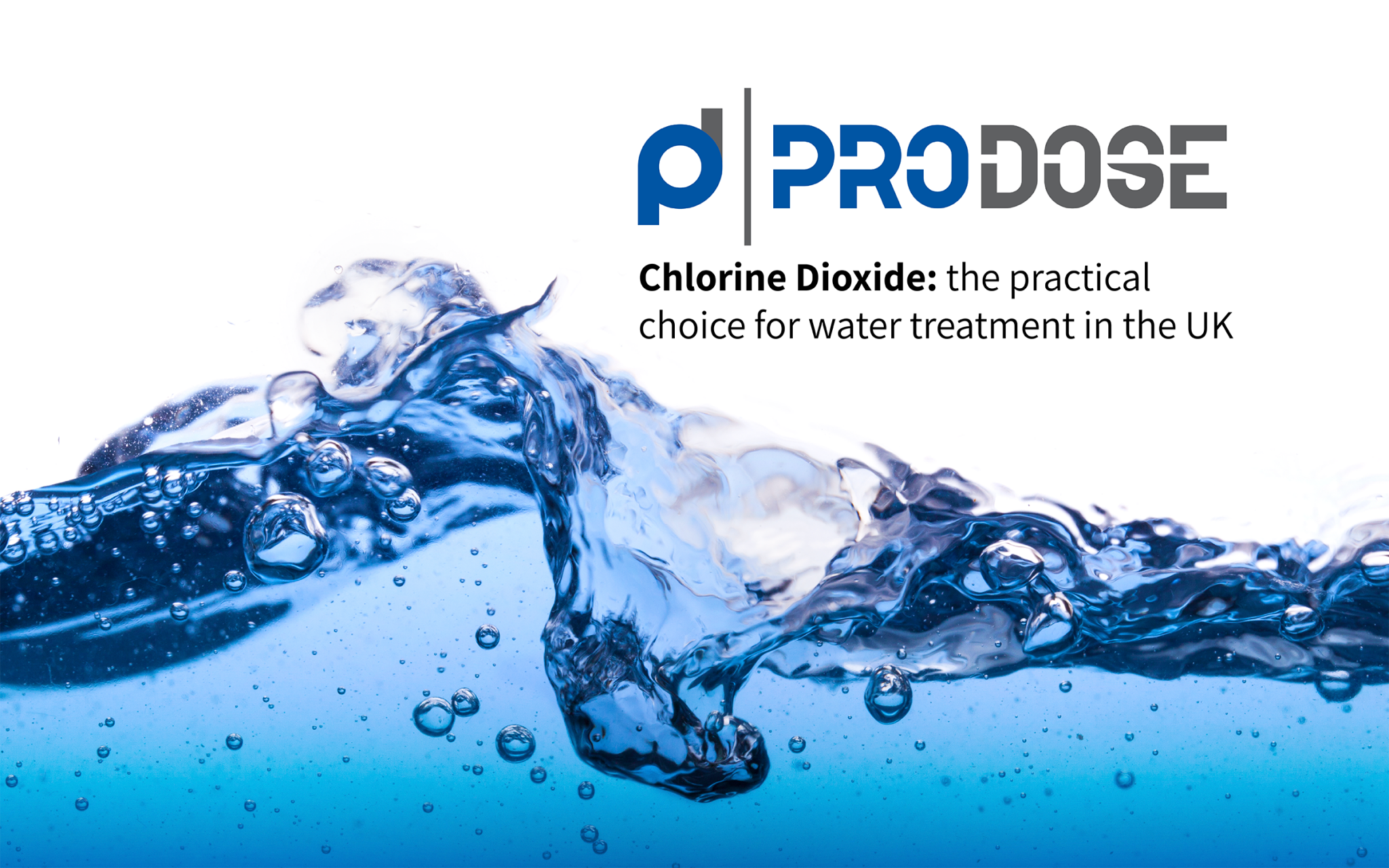 Chlorine Dioxide the practical choice for water treatment in the UK